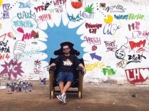 Imagen adelanto clip principe (graffitis de Ypso)